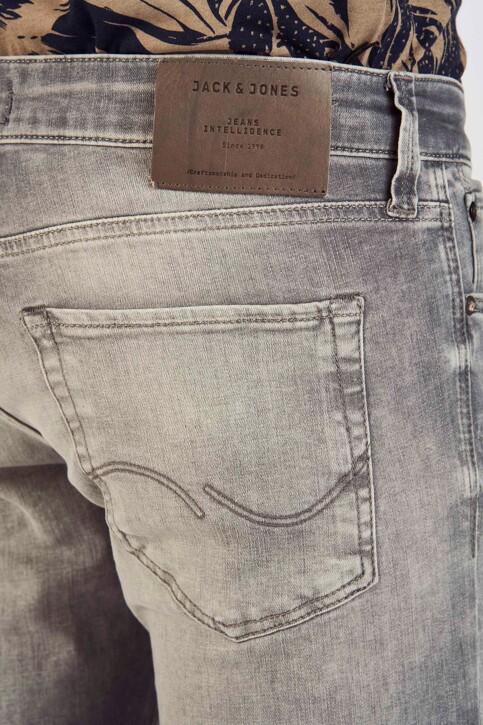 JACK & JONES JEANS INTELLIGENCE Jeans slim gris 12147024_GREY DENIM img5