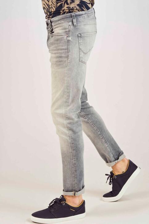 JACK & JONES JEANS INTELLIGENCE Jeans slim gris 12147024_GREY DENIM img6