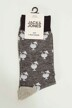 ACCESSORIES BY JACK & JONES Chaussettes 12147409_BLACK DRINK img3