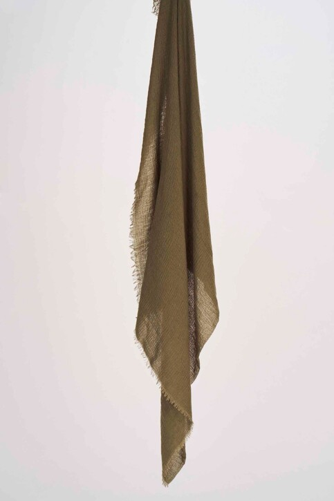 ACCESSORIES BY JACK & JONES Foulards vert 12147476_DUSTY OLIVE img1