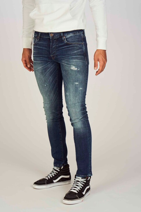 JACK & JONES JEANS INTELLIGENCE Jeans slim denim 12148232_BLUE DENIM img1