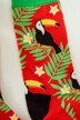 ACCESSORIES BY JACK & JONES Chaussettes rouge 12148541_FIERY RED img2