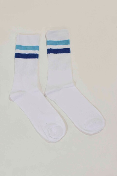 ACCESSORIES BY JACK & JONES Chaussettes bleu 12148550_NAUTICAL BLUE img1