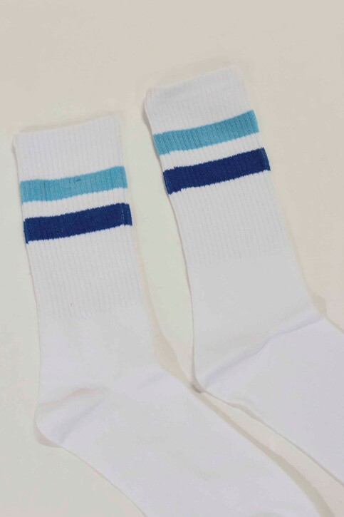 ACCESSORIES BY JACK & JONES Chaussettes bleu 12148550_NAUTICAL BLUE img2