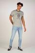 JACK & JONES JEANS INTELLIGENCE Jeans skinny MID BLUE DENIM 12149678_BLUE DENIM img2