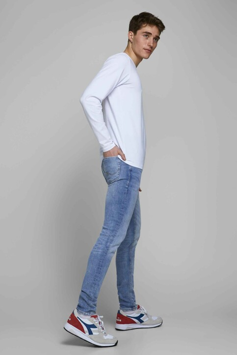 JACK & JONES JEANS INTELLIGENCE Jeans skinny MID BLUE DENIM 12149678_BLUE DENIM img7