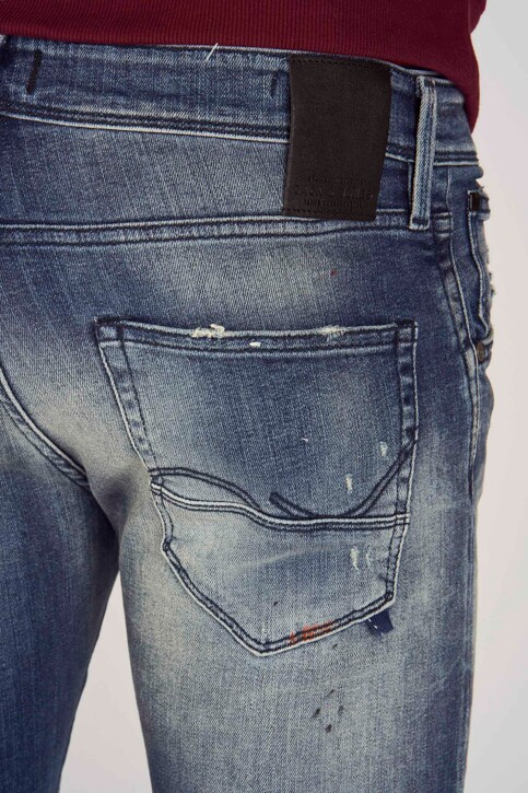 JACK & JONES JEANS INTELLIGENCE Jeans straight denim 12149913_BL860 BLUE DENI img5