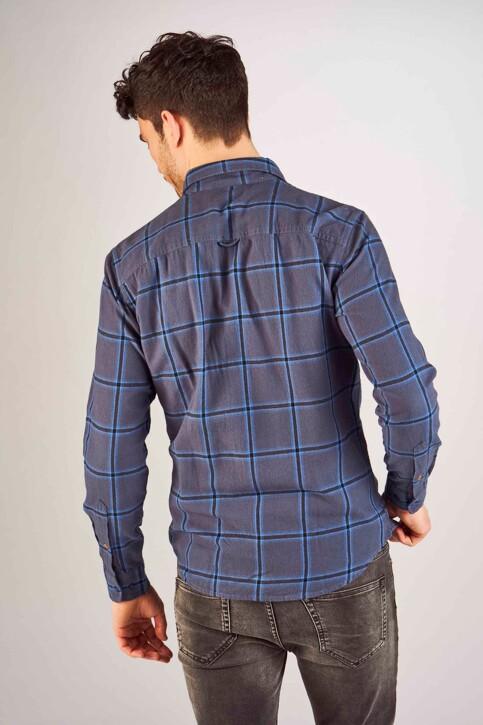 PREMIUM BLUE by JACK & JONES Hemden (lange mouwen) blauw 12150436_MOOD INDIGO img3
