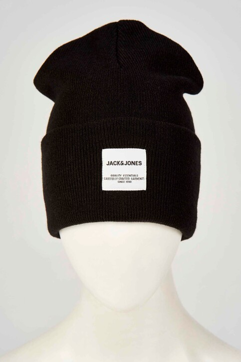 ACCESSORIES BY JACK & JONES Mutsen zwart 12150627_BLACK img2