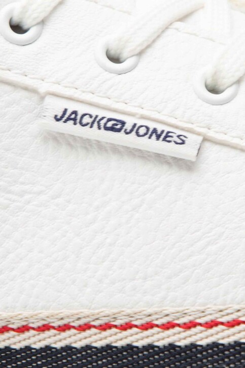 ACCESSORIES BY JACK & JONES Chaussures blanc 12150729_BRIGHT WHITE img6