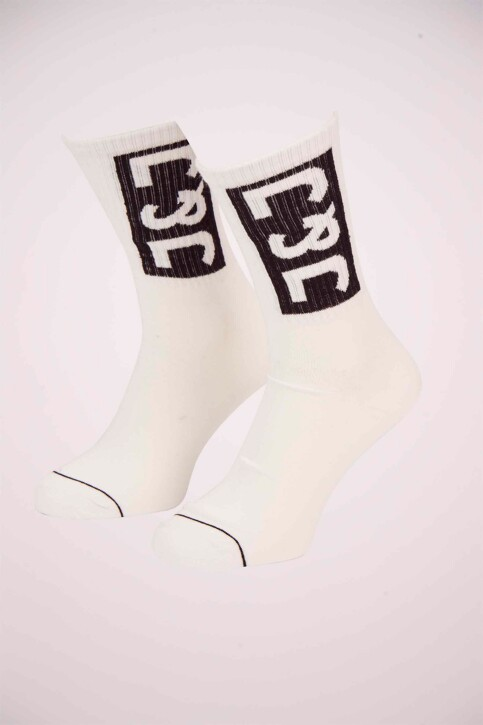 ACCESSORIES BY JACK & JONES Chaussettes blanc 12151968_WHITE img1