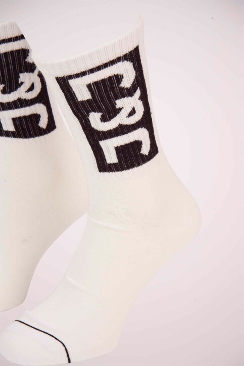 ACCESSORIES BY JACK & JONES Chaussettes blanc 12151968_WHITE img2