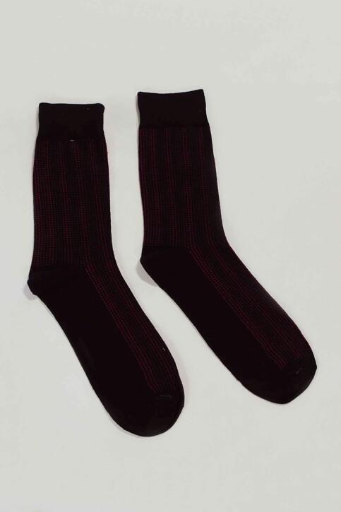ACCESSORIES BY JACK & JONES Sokken zwart 12152226_BLACK DOTS img1