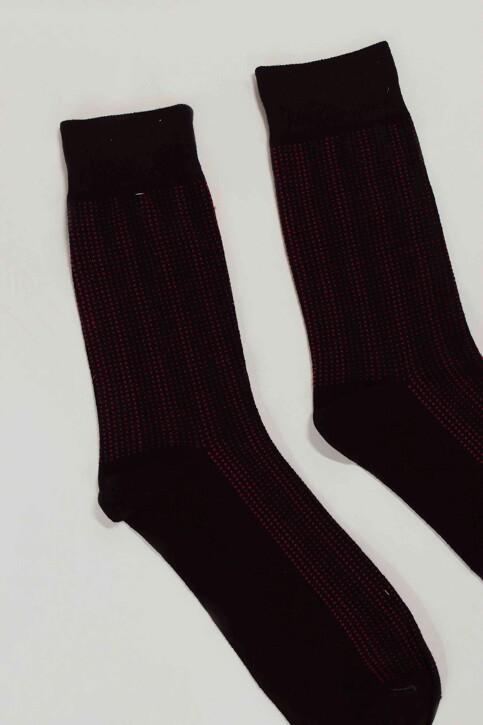 ACCESSORIES BY JACK & JONES Sokken zwart 12152226_BLACK DOTS img2