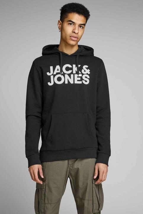 CORE BY JACK & JONES Sweaters met kap zwart 12152840_BLACK REG LARGE img1