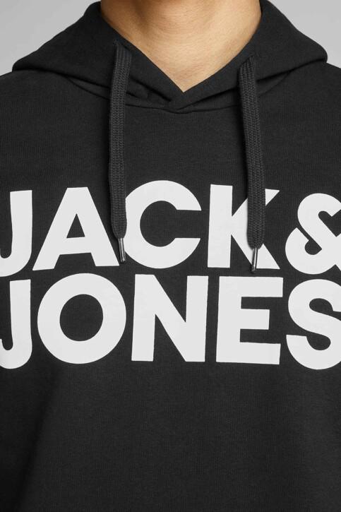 CORE BY JACK & JONES Sweaters met kap zwart 12152840_BLACK REG LARGE img4