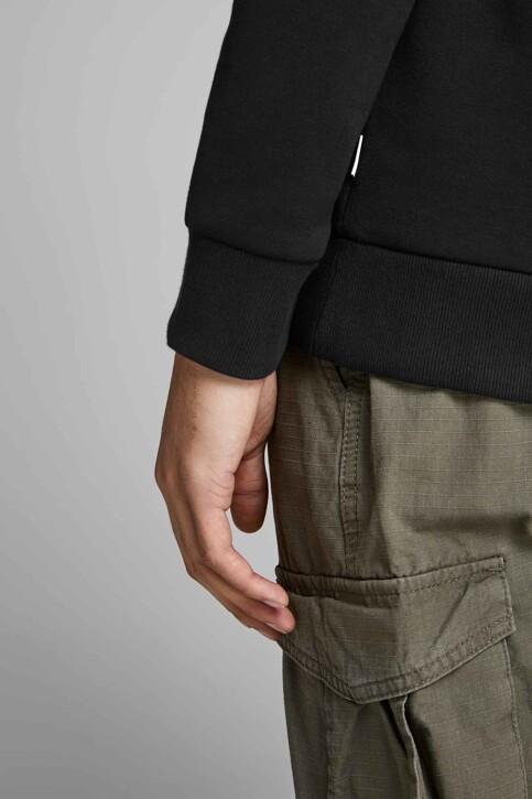 CORE BY JACK & JONES Sweaters met kap zwart 12152840_BLACK REG LARGE img5