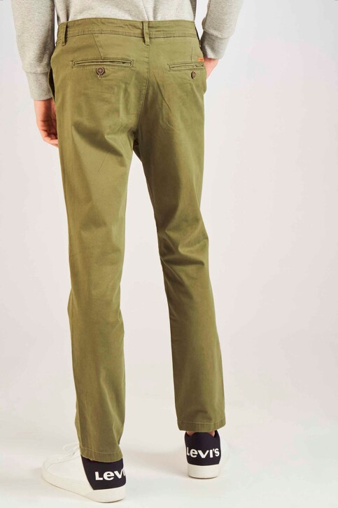JACK & JONES JEANS INTELLIGENCE Chinos OLIVE 12154272_OLIVE NIGHT img3