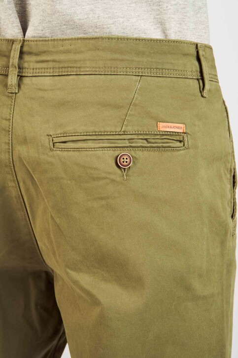 JACK & JONES JEANS INTELLIGENCE Chinos OLIVE 12154272_OLIVE NIGHT img4