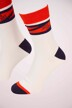 ACCESSORIES BY JACK & JONES Chaussettes 12155005_WHITE SOLID CHE img3