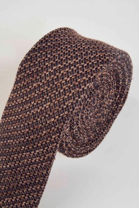 ACCESSORIES BY JACK & JONES Cravates gris 12155744_GREY DENIM img3