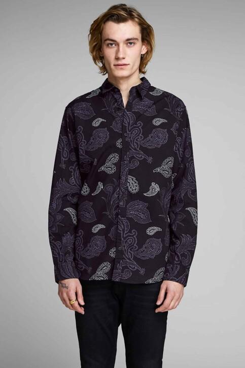 PREMIUM by JACK & JONES Hemden (lange mouwen) zwart 12156077_BLACK img1