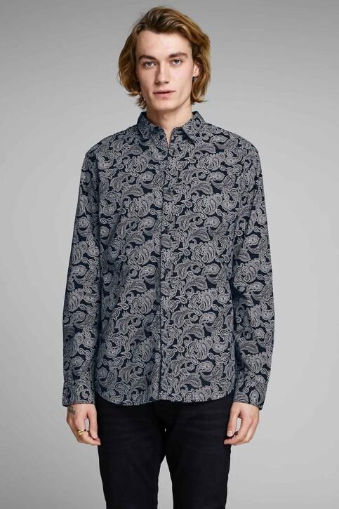 PREMIUM by JACK & JONES Hemden (lange mouwen) blauw 12156077_NAVY BLAZER img1