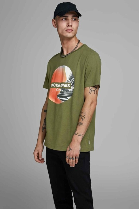 CORE BY JACK & JONES T-shirts (manches courtes) 12156273_WINTER MOSS SLI img1