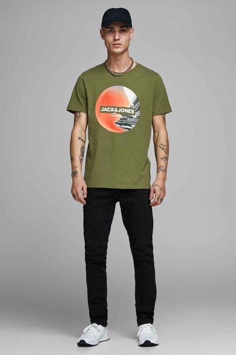 CORE BY JACK & JONES T-shirts (manches courtes) 12156273_WINTER MOSS SLI img2