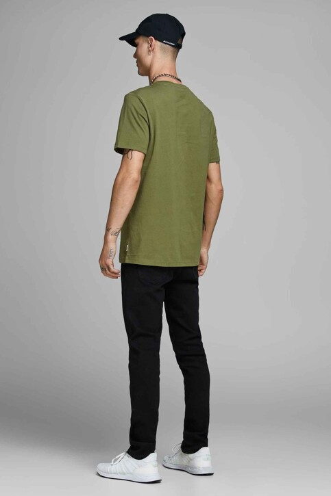 CORE BY JACK & JONES T-shirts (manches courtes) 12156273_WINTER MOSS SLI img3