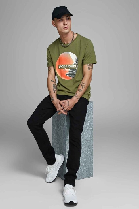 CORE BY JACK & JONES T-shirts (manches courtes) 12156273_WINTER MOSS SLI img4