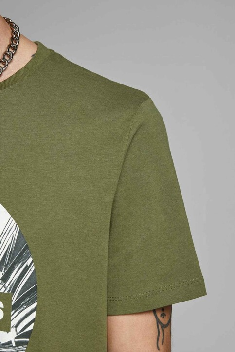 CORE BY JACK & JONES T-shirts (manches courtes) 12156273_WINTER MOSS SLI img6