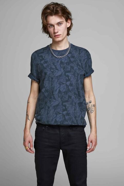 PREMIUM BLUE by JACK & JONES T-shirts (korte mouwen) blauw 12157967_MOOD INDIGO img1