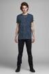 PREMIUM BLUE by JACK & JONES T-shirts (korte mouwen) blauw 12157967_MOOD INDIGO img2