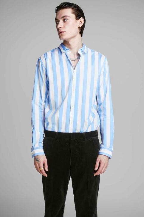 PREMIUM by JACK & JONES Chemises (manches longues) bleu 12158021_CASHMERE BLUE img1