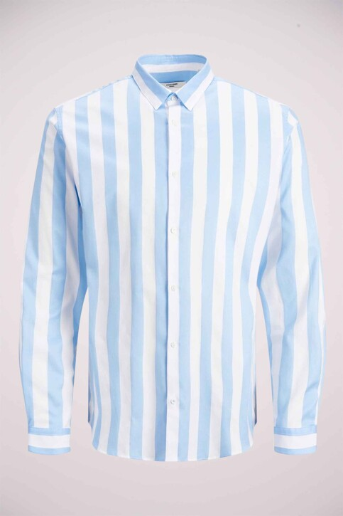 PREMIUM by JACK & JONES Chemises (manches longues) bleu 12158021_CASHMERE BLUE img5