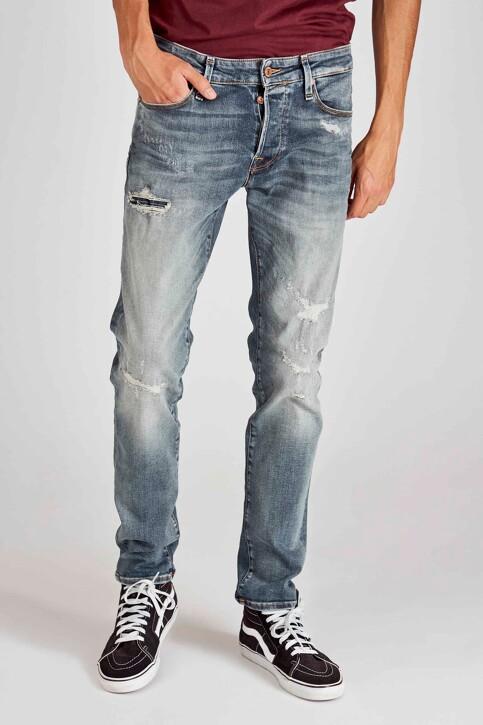 JACK & JONES JEANS INTELLIGENCE Jeans slim denim 12158604_BLUE DENIM img1