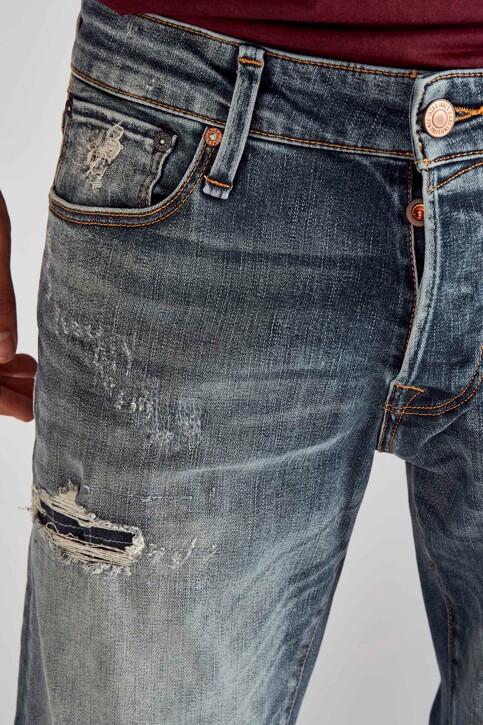 JACK & JONES JEANS INTELLIGENCE Jeans slim denim 12158604_BLUE DENIM img4