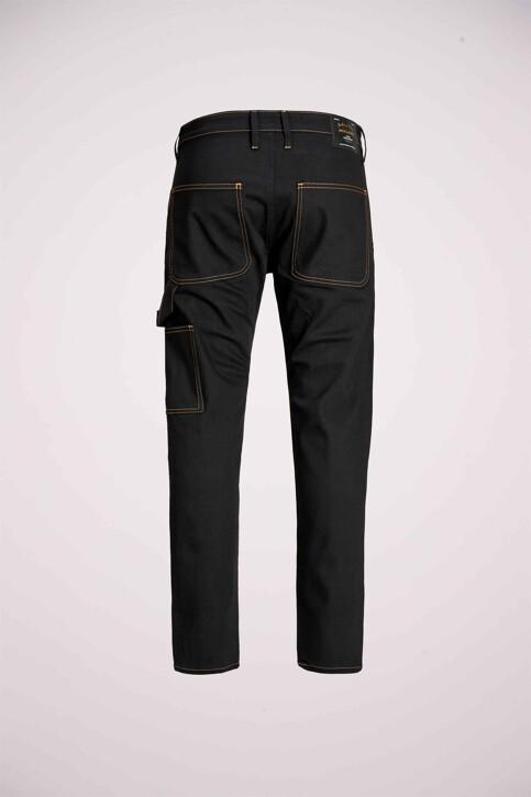 JACK & JONES JEANS INTELLIGENCE Jeans tapered 12159046_BLACK DENIM img7