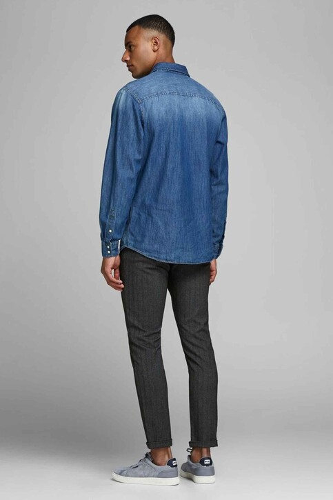 JACK & JONES JEANS INTELLIGENCE Chinos gris 12159959_DARK GREY img2
