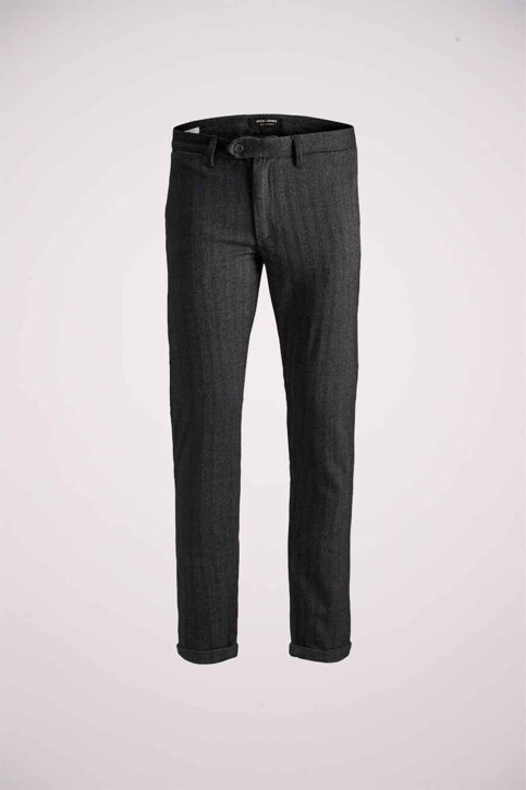 JACK & JONES JEANS INTELLIGENCE Chino's grijs 12159959_DARK GREY img8