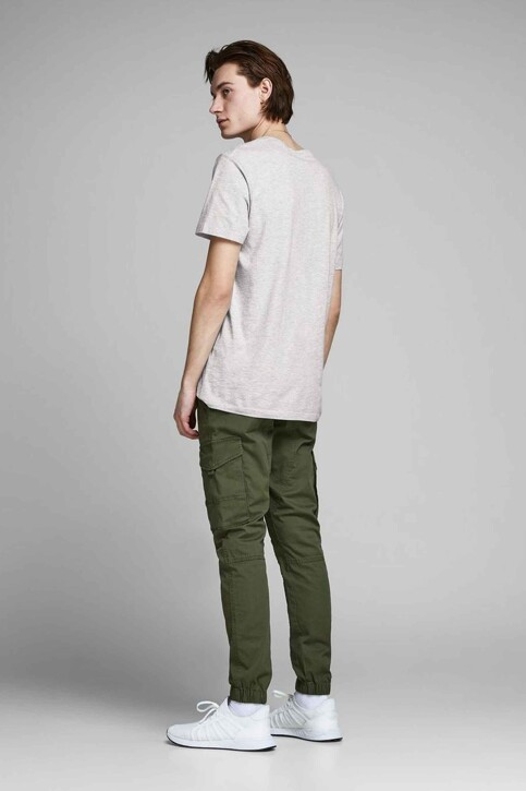 CORE BY JACK & JONES T-shirts (manches courtes) gris 12161626_LIGHT GREY MEL img3