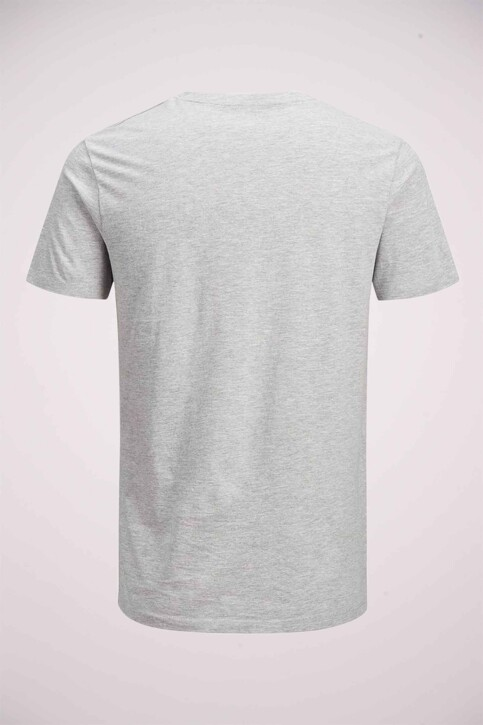 CORE BY JACK & JONES T-shirts (manches courtes) gris 12161626_LIGHT GREY MEL img6