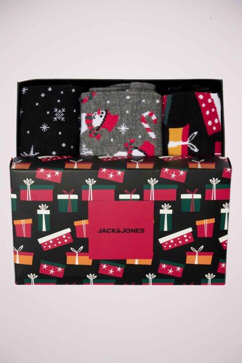 ACCESSORIES BY JACK & JONES Geschenken (sokken) grijs 12162181_DARK GREY MELAN img4