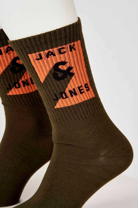 ACCESSORIES BY JACK & JONES Chaussettes bleu 12163035_FOREST NIGHT img3