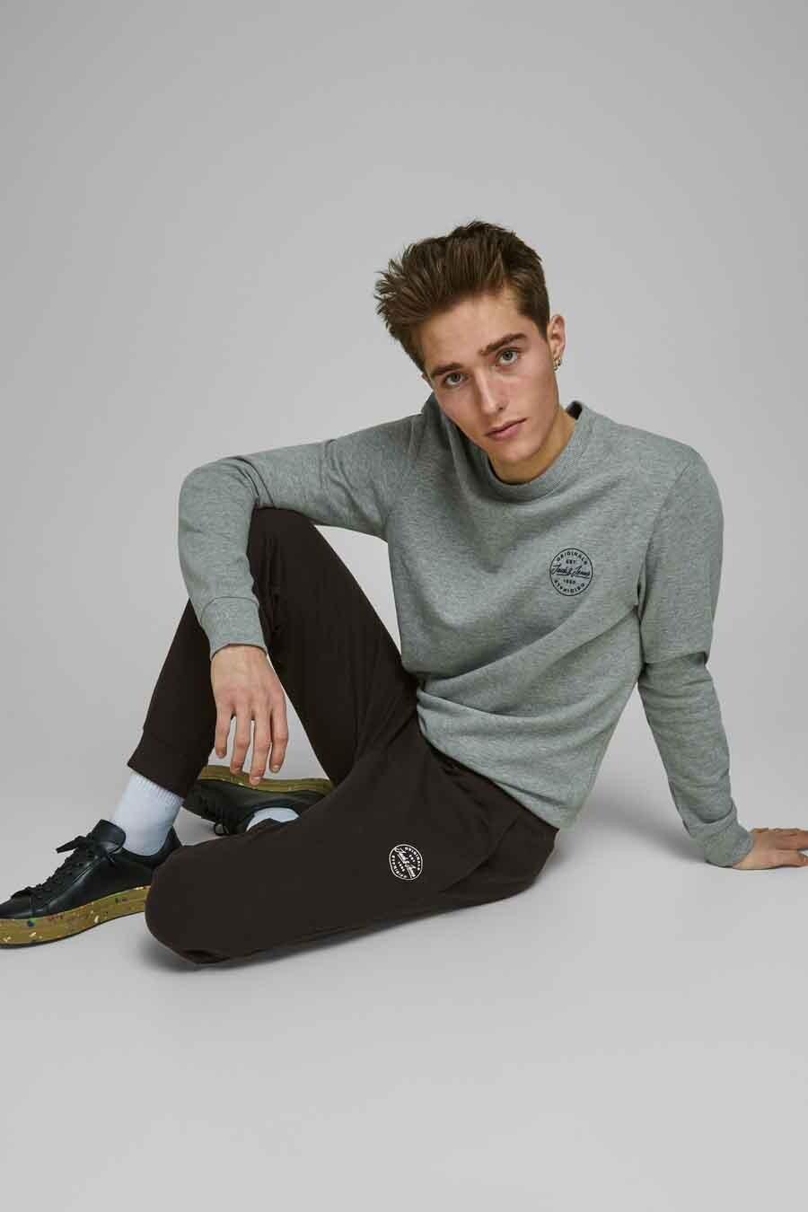 Jack & Jones Jeans Intelligence Jogging, Zwart, Heren, Maat: L/S/XL