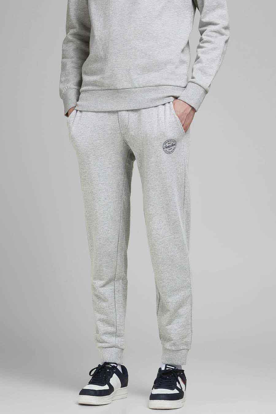 Jack & Jones Jeans Intelligence Jogging, Grijs, Heren, Maat: L/M/S/XL