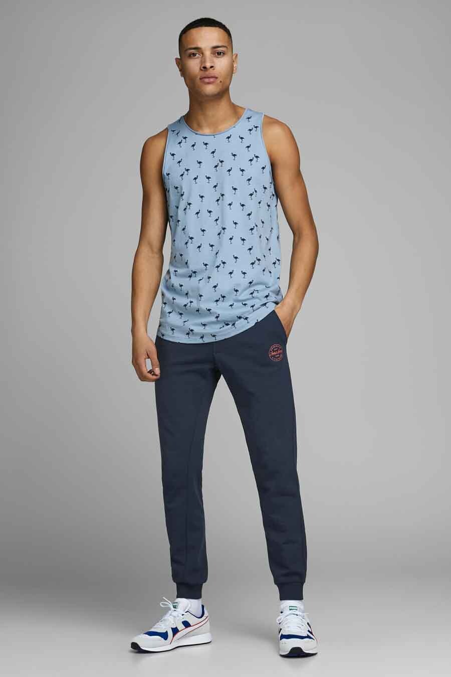 Jack & Jones Jeans Intelligence Jogging, Blauw, Heren, Maat: M/XL