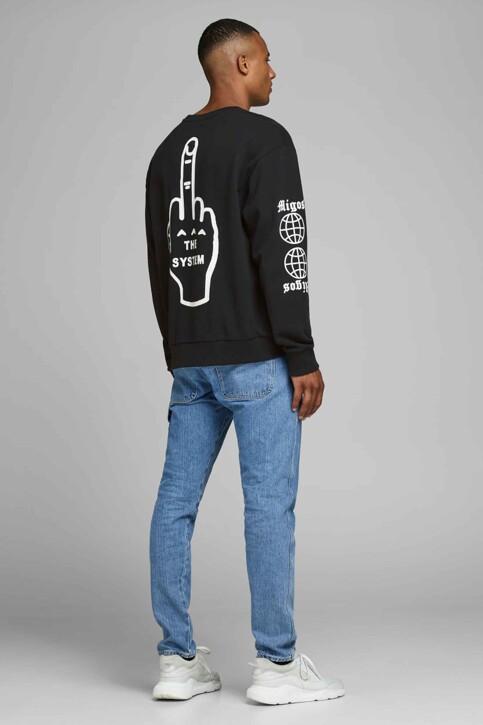 CORE BY JACK & JONES Sweaters met ronde hals zwart 12166013_BLACK img2