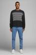 CORE BY JACK & JONES Sweaters met ronde hals zwart 12166013_BLACK img3